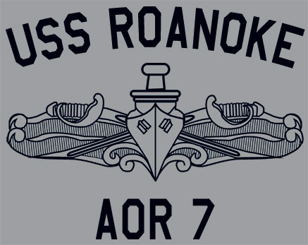 Us usn navy uss roanoke aor 7 t shirt ebay for Custom t shirts roanoke va