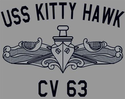 US Navy USS Kitty Hawk CV-63 T-Shirt Aircraft Carrier | eBay