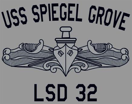 USN US Navy USS Spiegel Grove LSD-32 T-Shirt